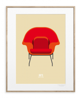FAUTEUIL 1 ROUGE