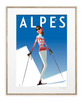 ALPES FILLE ROUGE