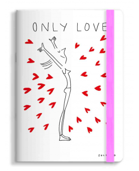 Notebook SOLEDAD ONLY LOVE