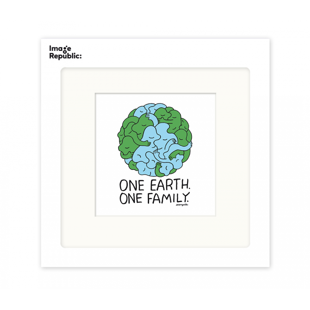 034 ONE EARTH ONE FAMILY