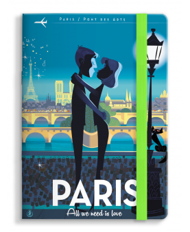 Notebook Monsieur Z Paris Love
