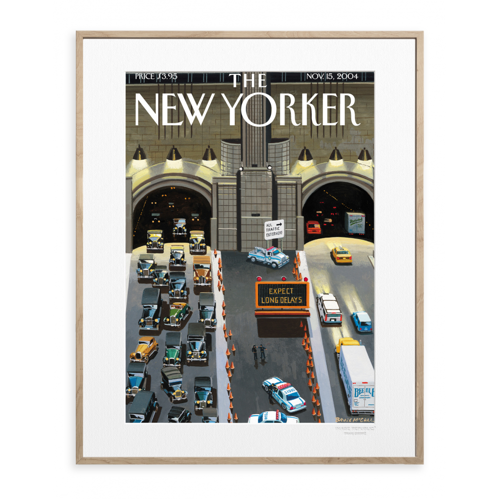 affiche the new yorker 15 mccall tunnel. Black Bedroom Furniture Sets. Home Design Ideas