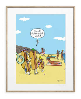 HOT DOG NUDIST BEACH