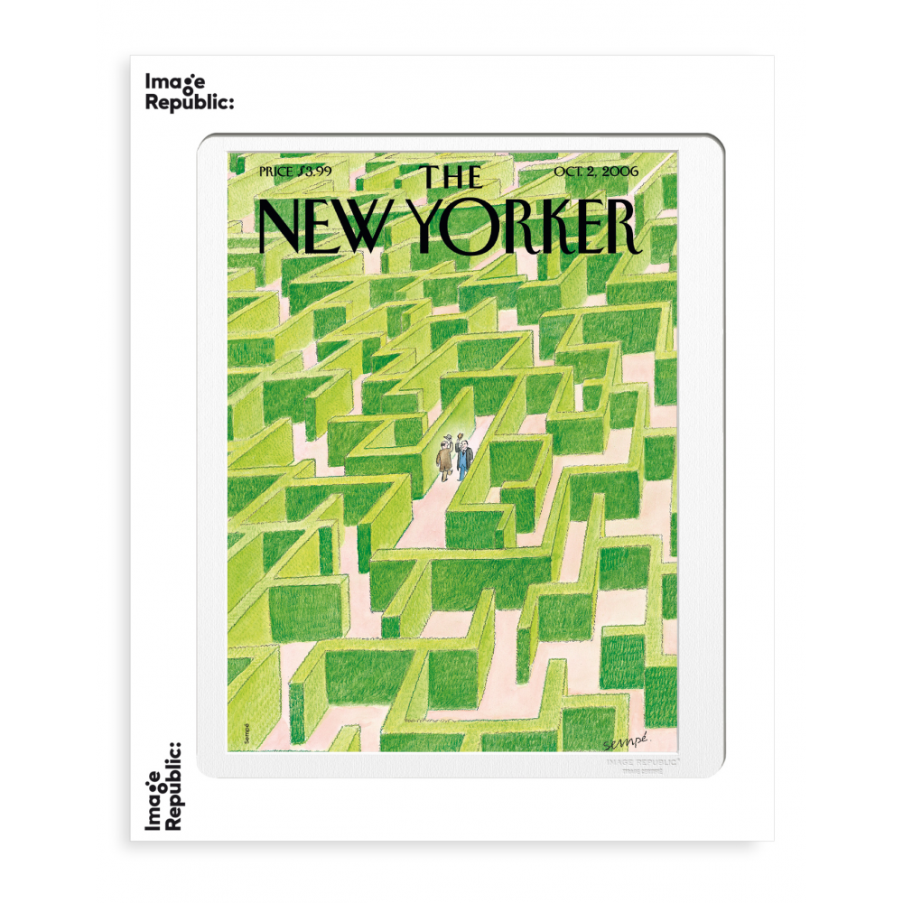THE NEWYORKER 51 SEMPE LABYRINTHE